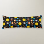 Colorful Universe Astronomy Body Pillow