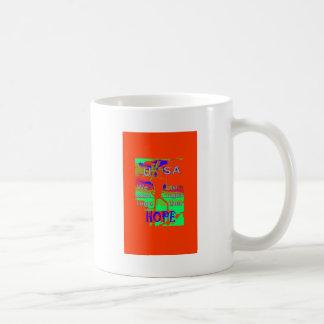 Colorful USA Hillary Hope We Are Stronger Together Coffee Mug