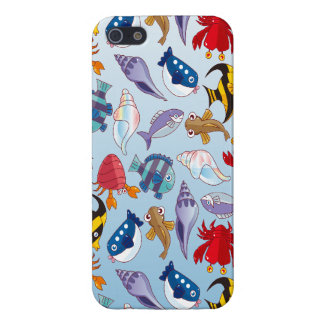Colorful variety of fish. case for iPhone SE/5/5s