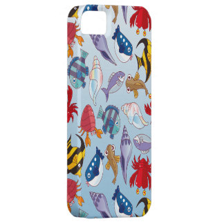 Colorful variety of fish. iPhone 5 case