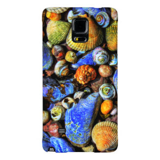 Colorful Various Sea Shells Galaxy Note 4 Case