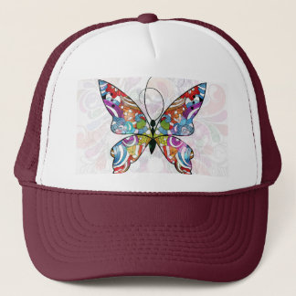 Colorful Vector Butterfly Trucker Hat