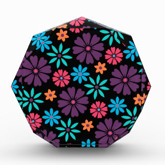 Colorful Vector Flower Pattern Award