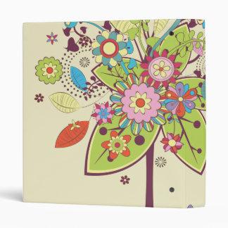 colorful vector flower tree bliss.ai vinyl binders
