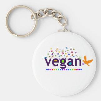Colorful Vegan Key Chain