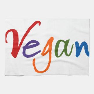 Colorful Vegan Kitchen Towels