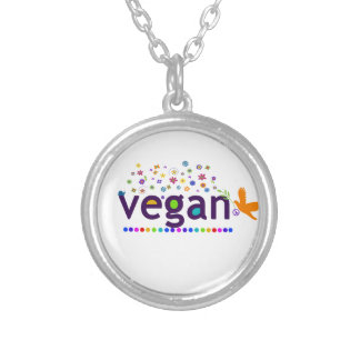 Colorful Vegan Personalized Necklace