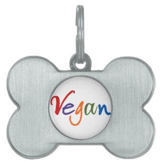 Colorful Vegan Pet Tags