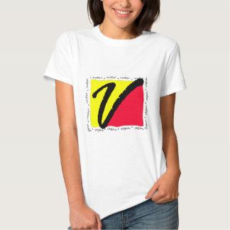 Colorful Vegan Tee Shirt
