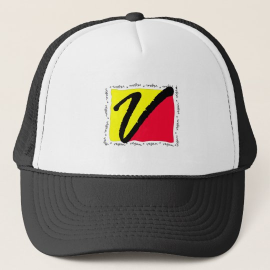 Colorful Vegan Trucker Hat