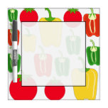 Colorful Vegetables. Dry-Erase Whiteboards
