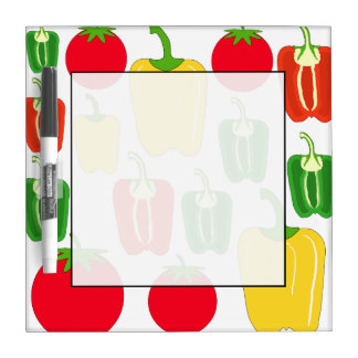 Colorful Vegetables. Dry-Erase Whiteboard