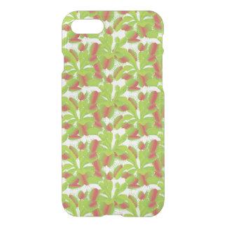 Colorful Venus Flytrap Pattern iPhone 7 Case