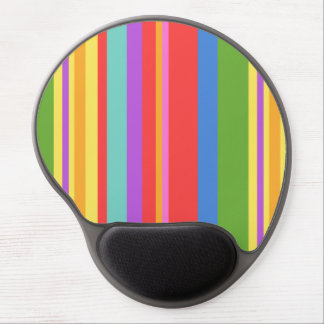 Colorful Vertical Stripes Gel Mouse Pad