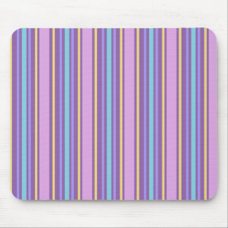 Colorful Vertical Stripes Mouse Pad