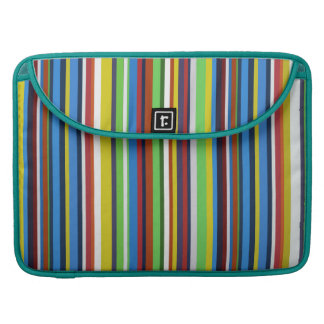 Colorful Vertical Stripes Sleeve For MacBook Pro