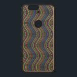 "Colorful vertical waves wood nexus 6P case<br><div class=""desc"">Colorful vertical waves.</div>"