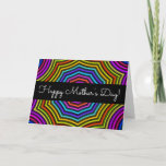 "[ Thumbnail: Colorful & Vibrant ""Happy Mother's Day!"" Card ]"