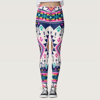 Colorful vibrant leggings
