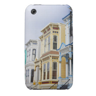 colorful Victorian home in Mission District iPhone 3 Case-Mate Case