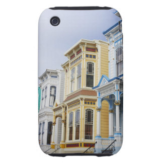 colorful Victorian home in Mission District iPhone 3 Tough Covers