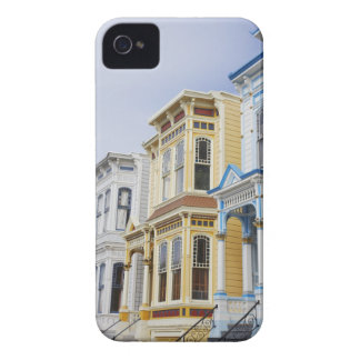 colorful Victorian home in Mission District iPhone 4 Case-Mate Cases
