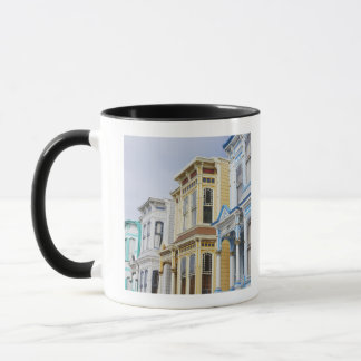 colorful Victorian home in Mission District Mug