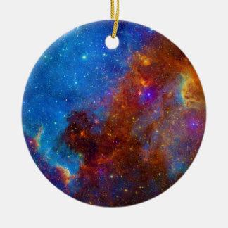 Colorful View of the North American Nebula Ceramic Ornament