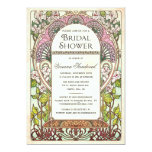 "Colorful Vintage Bridal Shower Invitations 5"" X 7"" Invitation Card"