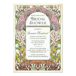 Colorful Vintage Bridal Shower Invitations