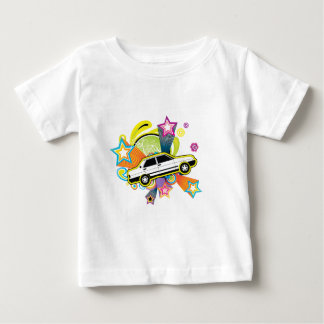 Colorful Vintage Car Baby T-Shirt