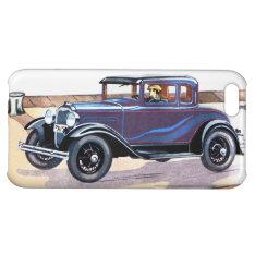Colorful Vintage Car Sedan Iphone 5c Case at Zazzle