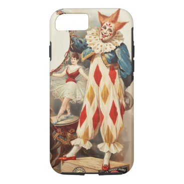 Colorful Vintage Circus Clown iPhone 8/7 Case