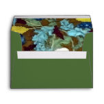 Colorful Vintage Dandelions Abstract Envelopes