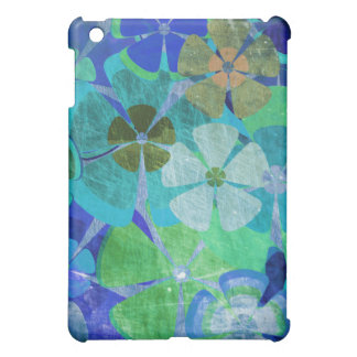 Colorful vintage floral pattern ipad cases