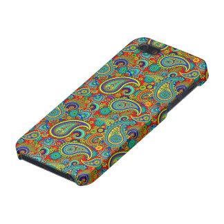 Colorful Vintage Orante Paisley iPhone SE/5/5s Case