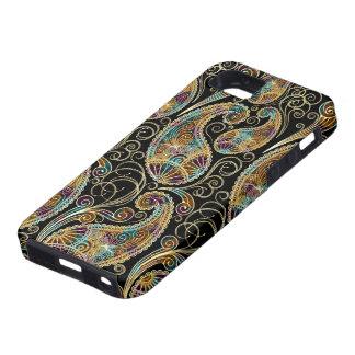 Colorful Vintage Ornate Paisley Design iPhone 5 Case
