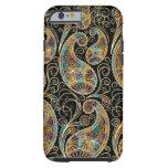 Colorful Vintage Ornate Paisley Design iPhone 6 Case