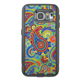 Colorful Vintage Paisley Seamless Pattern OtterBox Samsung Galaxy S6 Case