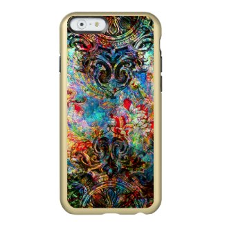 Colorful Vintage Rustic Floral Collage Incipio Feather® Shine iPhone 6 Case