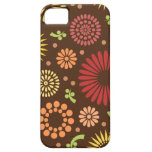 Colorful vintage sunflowers iPhone 5 cover