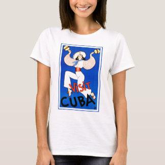 Colorful Vintage Visit Cuba Dancer T-Shirt