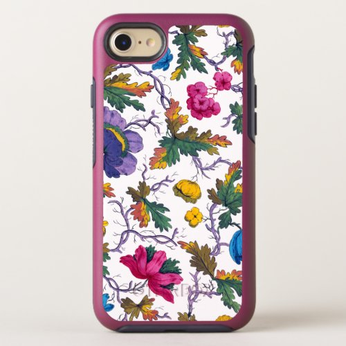Colorful Vintage Watercolor Floral Phone Case