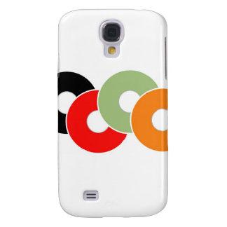 Colorful vinyl samsung galaxy s4 case
