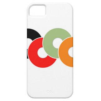 Colorful vinyl iPhone 5 cases