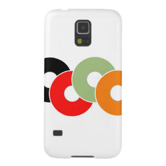 Colorful vinyl cases for galaxy s5