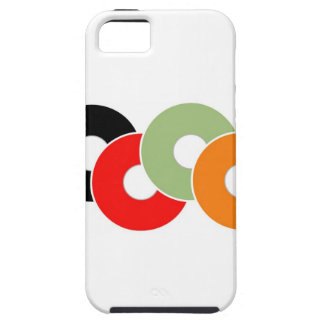 Colorful vinyl iPhone 5 covers