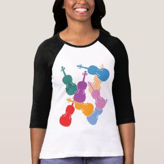 Colorful Violas T-Shirt