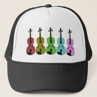 Colorful Violin Trucker Hat