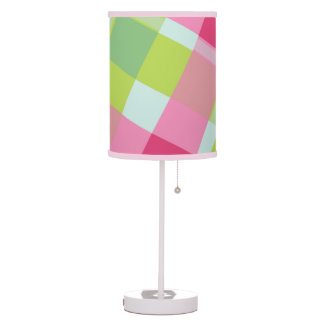 Colorful vivid checkered - Table Lamp